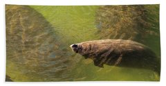Manatees Bath Towel