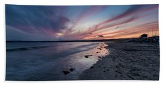 Marazion Sunset - Cornwall Bath Towel