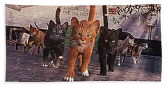 March Of The Mau Hand Towel
