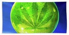 Marijuana Moon  Hand Towel
