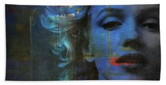 Marilyn Monroe - Retro  Bath Towel