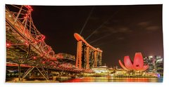 Marina Bay Sands Bath Towel
