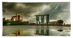Marina Bay Sands Hotel Bath Towel