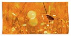 Marsh Sparrow Hand Towel