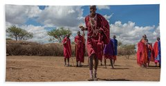 Maasai Welcome Hand Towel