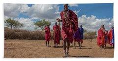 Maasai Welcome Bath Towel