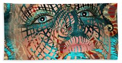 Mask Dreaming Of The Sea Hand Towel