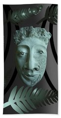Mask The Maori Warrior Hand Towel