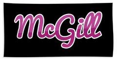 Mcgill #mcgill Bath Towel