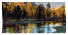 Mcgown Peak Sunrise  Hand Towel