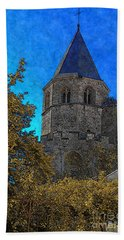 Medieval Bell Tower 3 Hand Towel