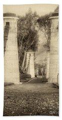 Medieval Bridge Hand Towel