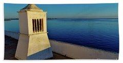 Mediterranean Chimney II. Portugal Bath Towel
