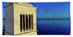 Mediterranean Chimney In Algarve Bath Towel