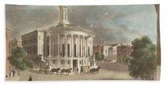 Merchants Exchange, 1838 Bath Towel