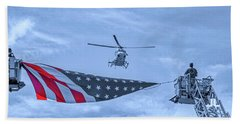 Mercy Flight Of Western New York Hand Towel