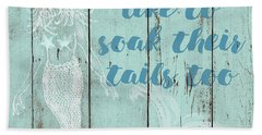 Soaked Bath Towels