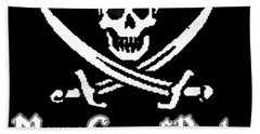 Merry Gang Of Pirates Hand Towel