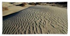 Mesquite Flat Sand Dunes Grapevine Mountains Hand Towel