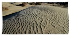 Mesquite Flat Sand Dunes Grapevine Mountains Bath Towel