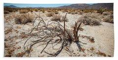 Mesquite In The Desert Sun Bath Towel