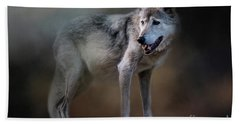 Mexican Wolf Hand Towel