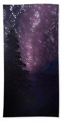 Milky Way Lake Bath Towel