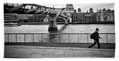 millennium Bridge 02 Bath Towel