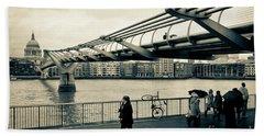Millennium Bridge 03 Bath Towel