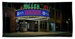 Miller Theater Augusta Ga Bath Towel