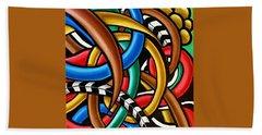 Colorful Abstract Art Painting Chromatic Intuitive Energy Art - Ai P. Nilson Bath Towel