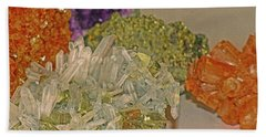 Hand Towel featuring the photograph Mineral Medley 7 by Lynda Lehmann