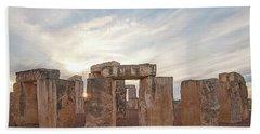 Mini Stonehenge Bath Towel