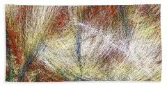 Modern Art  .abstract  3  Energy  Flows Bath Towel