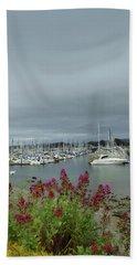 Monterey Harbor  Bath Towel