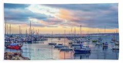 Monterey Pastel Sunset Hand Towel