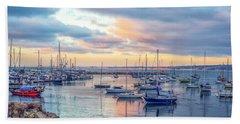Monterey Pastel Sunset Bath Towel