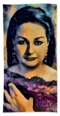 Montserrat Caballe Collection - 1 Bath Towel