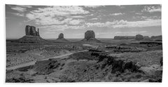 Monument Valley View Hand Towel
