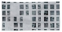 Moody Blues Data Pattern Hand Towel