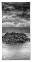 Bath Towel featuring the photograph Moody Sky by Chris Cousins