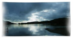 Moody Sky Painting Bath Towel