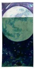 Moon  Bath Towel