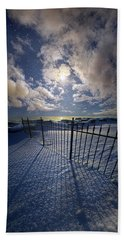 Bath Towel featuring the photograph Moon Shine by Phil Koch