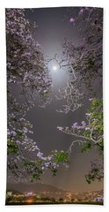Bath Towel featuring the photograph Moonlight And Magic by Rachel Lee Young