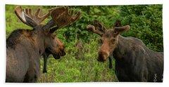 Moose Conversations Bath Towel