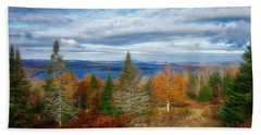 Mooselookmeguntic Lake Fall Colors Hand Towel
