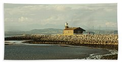 Morecambe. The Stone Jetty. Hand Towel