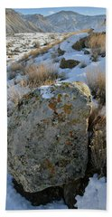 Morning At The Book Cliffs Hand Towel