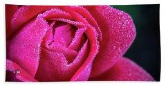 Morning Rose Hand Towel